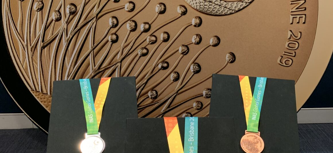 Iconic World Intellectual Impairment Sport Global Games medals revealed