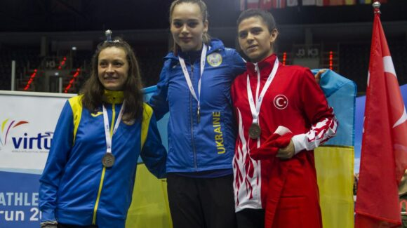 Ukrainian Women shine at Virtus World Indoor Athletics